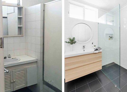 De complete badkamer verbouwing