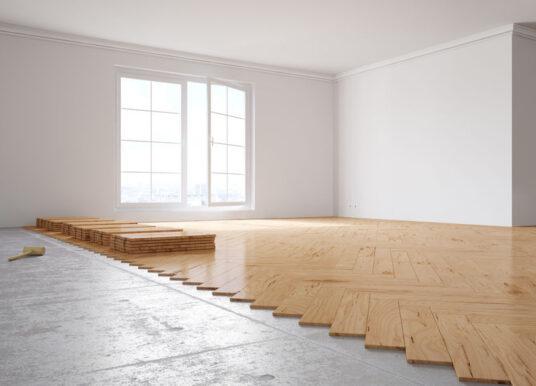 Houten vloeren, parket en laminaatvloeren