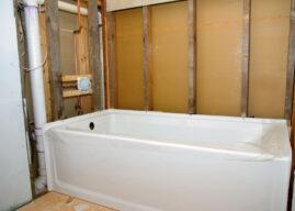 Opbouwen nieuwe badkamer